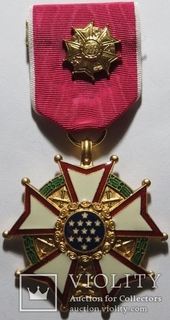 Орден «Легион почёта», США,Степень Офицер, 1942-1945г.г.