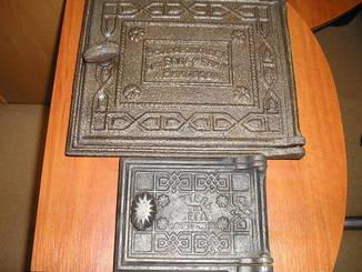 Комплект чугунные дверки печи Артель