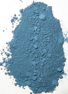 Рибекит.пигмент для минеральной краски(иконопись,живопись).