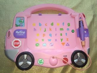 Автобус - панель Leap Frog с алфавитом. Оригинал.