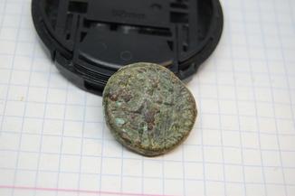 Монета г. Аскалон, Нерон