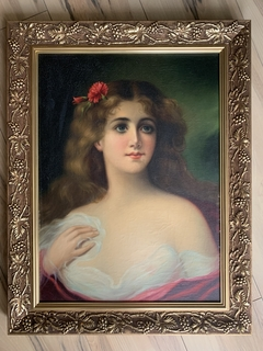 Женский портрет, без подписи, 52*39
