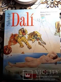 Сальвадор Дали Книга с картинами (Немецкое издание 1991)