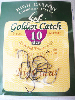 Крючки Golden Catch Big Claw № 10 10шт