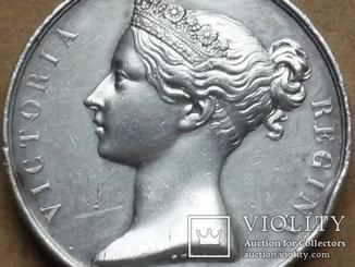 Великобритания.Медаль за Крымскую войну.1854г.Серебро.Оригинал.