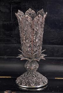 Ваза филигрань (925) для цветов