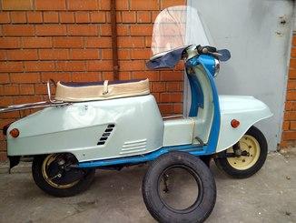 Мотороллер Турист СССР 600 км.(не прошел обкатку)