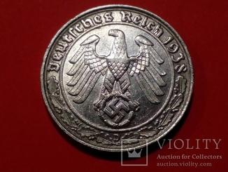 50 пфенингов 1938 Никель 3 рейх