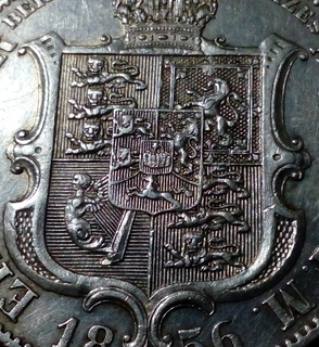 Талер 1856 Ганновер Георг 5