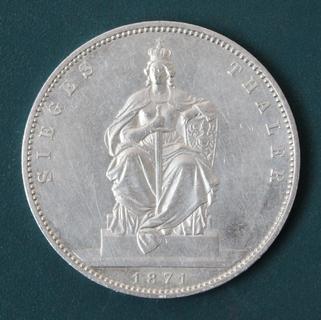 1 талер 1871