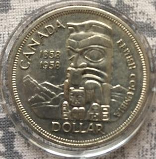 Canada 1 dollar 1958
