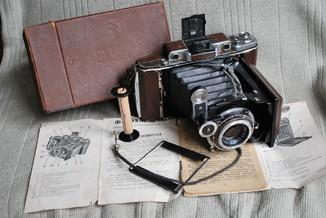 Москва-2, коричневая, 1948 год, упаковка, документы.