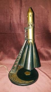 """Настольная лампа """"Ракета"""""""