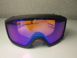Горнолыжная маска Alpina Quattroflex Hybrid Mirror Scarabeo (код 501)