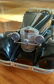 Модель Mercedes Benz 500 K roadster 1936