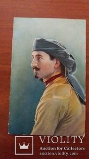 Кавказкие типы. Гуриецъ