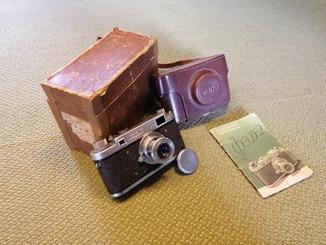 Фотоаппарат ФЭД-2 с утопающим объективом №000662! с коробкой и инструкцией