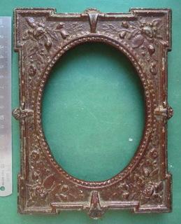 Металлическая рамка под кабинет-портрет .