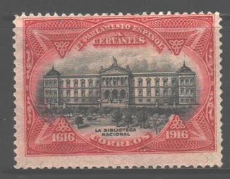 Испания. 1917. Национальная библиотека *.