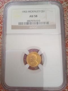 Доллар 1903 памятный Мак Кинли
