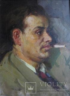 Л.Н.Кузьминков (1925-2012). Роальд Чангли. 1958 г