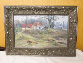 Картина Смеркалось 2007г. Ковалёв В.Н
