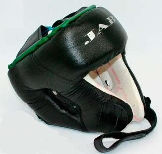 """Шлем боксерский Торговой марки """"JAB"""". Новый. Кожа+кожзам"""