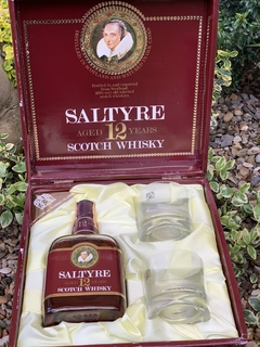 Whisky Saltyre 12 gift pack 1980s
