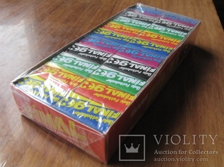 Запечатанный блок жвачек Final 90