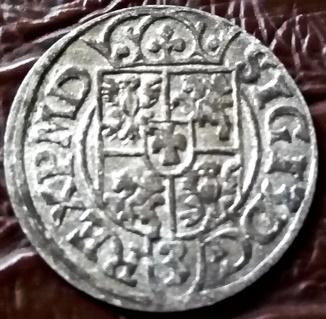 1 1/2 гроша 1617 року. Польща (срібло)  (без L-ЛИТВИ)