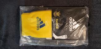 Гетры Adidas, размер 40-42 (желтые)