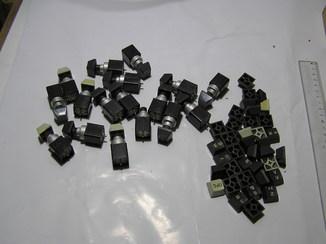 Кнопки герконовые,16 штук + одна разобранная.