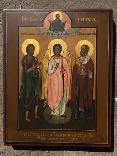 Икона Св.Иоанн Архангел и Николай