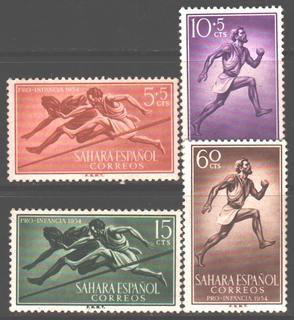 Испанская Сахара. 1954. Спорт **.