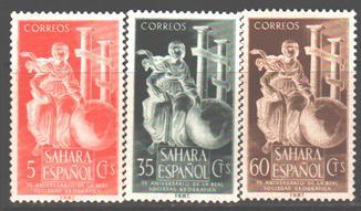 Испанская Сахара. 1953. Юбилей географического общества **.