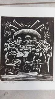 Г. Смольський Нарада Довбуша 1960р