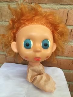 Интересная голова Кукли большая голова и глаза