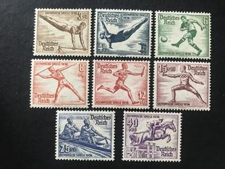 Третий Рейх. 1936. Спорт, Олимпиада, лето. Полная серия.