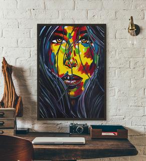 Портрет девушки (масло/холст) 60х80 см