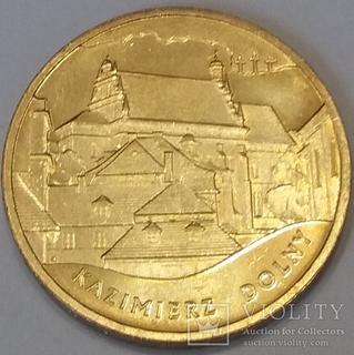 64aee7793e9e05 Монети ПольшіПольща 2 злотих, 2008 Польські монументи матеріальної культури  - Казимеж-Дольни