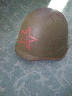 Советская шлем каска СШ-40 со звездой