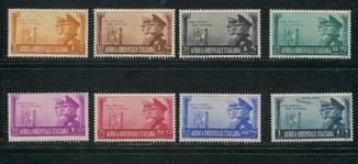 Рейх 1941 Итальянская Восточная Африка Гитлер и Муссолини MNH **