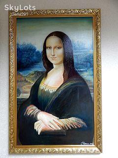 Копия. Картина Мона Лиза Вознесенская.50*80см холст масло