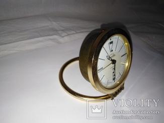 Механические часы–будильник «Слава» 11 камней СССР