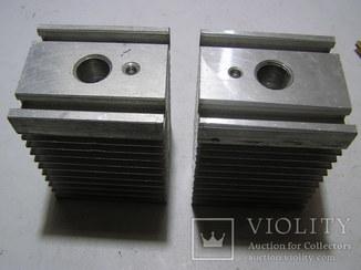 Радиаторы для мощных тиристоров и диодов. 2 штуки.