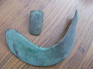 Серп культура Ноуа та мотига-тесло рубежу 3-2 тис. до н.е.