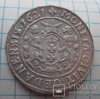 Орт 1621 года Гданьск Сигизмунд III Ваза