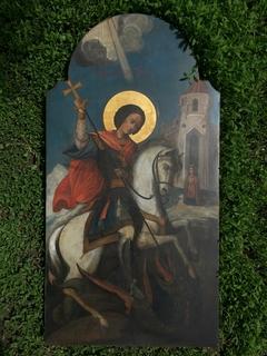 Икона Георгий Победоносец 89*46 см.