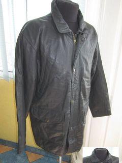 Большая мужская кожаная куртка HENRY MORELL. Лот 464