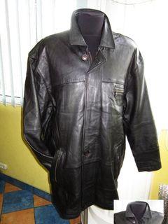 Большая оригинальная мужская кожаная куртка GINO GINERO. Италия. Лот 468